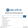 【ボードゲーム】『Melodice』ボードゲームにピッタリのBGMを流せるサイト!!