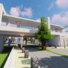 シンプルな高架駅を作る【Minecraft】