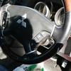 自動車内装修理#211 三菱/パジェロ ウッドコンビハンドル擦れ傷
