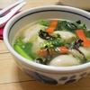簡単!!市販の冷凍 大阪王将 ぷるもち水餃子を使って中華スープの作り方/レシピ
