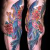 鳳凰 女性の刺青