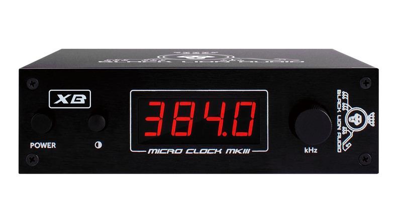 BLACK LION AUDIO Micro Clock MKⅢ XB レビュー:0.6psの低ジッターを実現したクロック・ジェネレーター