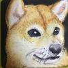 お花の絵と犬猫マグネット
