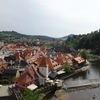 チェコ「チェスキークルムロフの町」の思ひで…