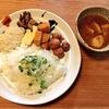 だれやめ✕SANDAY and CURRY!旬の食材で彩る和カレー定食は鰤と豆腐のカレー&和風ポークビンダルーに和のお惣菜、デザートまでついたスペシャルなコラボカレーでした!