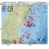 2016年10月16日 18時31分 宮城県中部でM3.8の地震