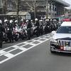 京都府警年頭視閲式その2