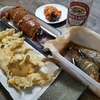 蝦夷メバルの煮つけ・ハゼの天ぷら