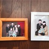 新年に撮影した家族写真ができあがりました(スタジオアリス)