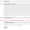 Instagram API のOAuth認証をiPhoneで試してみました