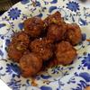 幸運な病のレシピ( 663 ) 夜:パテから作った肉団子、汁、丸干しイワシ