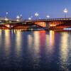 吾妻橋の夜景を撮ってきたよ