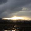 夕暮れ景色~その76①『雨上がり』