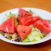 #0115 トマトの代わりにスイカを使ったサラダを作ってみたくなった。