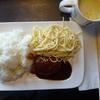 セブンハンバーグとマヨパスタ&イオンコーンスープ