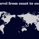 Travel from coast to coast