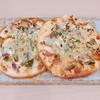 搾菜とツナのミニピザ