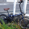 日帰り登山 折りたたみ自転車 実践投入