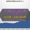 (2021年3月20日0時時点)【暗号資産】トレードメモ 総資産は+686,901円でした【仮想通貨】BTC,ETH,MONA,XRP