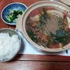 茸と豆腐のトマト鍋