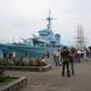 ポーランドのグジニアに展示されていた第二次大戦時の駆逐艦(その1)