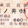 長野電鉄連絡運輸廃止