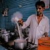 インドで飲む「チャイ」はホッとする。