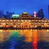 【香港】豪華な水上レストラン!