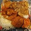 【かつや】生姜焼丼から揚げチキンカツ弁当 ¥750(税別)+タレカツ丼 ¥590(税別)