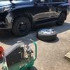 ランドクルーザープラド タイヤ交換。意外と簡単にできる!?
