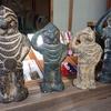 等彌神社(3)謎の神像は御神宝 二本足でヒトガタの八咫烏(やたからす)