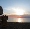 江差町 日本海に面した繁次郎浜