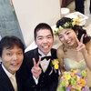 卒業生の結婚式に行ってきたよ!北里大学に赴任して初めての,卒業生どうしの結婚式に参列☆ その2