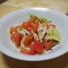 【レシピ】燻製! スモークチキンと冷やしトマト!火にも味があります!
