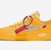 "【リーク/2021年発売】スニーカーリーク情報  ""OFF-WHITE™️ × NIKE AIR FORCE 1 LOW UNIVERSITY GOLD"""