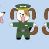 犬のおまわりさんの3Dモデルを作ろう!(下描き編)1