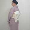 【コーディネート例】洗える着物でお花見コーデ(3月下旬)
