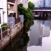 EH200 大岡川の川面