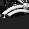 パーツ:Vance & Hines「Big Radius 2-into-2 for 2018 Softail」