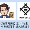 【決算速報】三井物産/新中期経営計画とあわせて徹底解説!