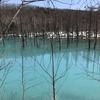 噂の青い池