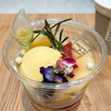 CAFĒ DE H(カフェ・ドゥ・アッシュ)イオンモール白山店限定の「MOMOパフェ」が桃たっぷりで桃好きにはたまらない