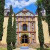 【オアハカ観光】おとぎの国の教会をひとりで見に行った。【Santa Ana Zegache】