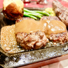 ハングリータイガーはビーフ100%ハンバーグの元祖です!