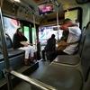 バンコクのバス、表示が新しくなって、とても乗りやすくなってます。