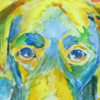 絵を描くとき犬に「なりきる」人生も夢になりきる