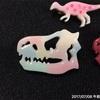 恐竜の恐竜バッチはレインボー