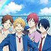 高校生男子4人組による青春アニメ「虹色デイズ」