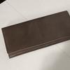 【悲報】LUEGOのコードバン財布に折れ目(シワ)が‥育成に失敗!