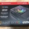 【自作PC】電源容量が足りない!サーマルテイク650W購入!